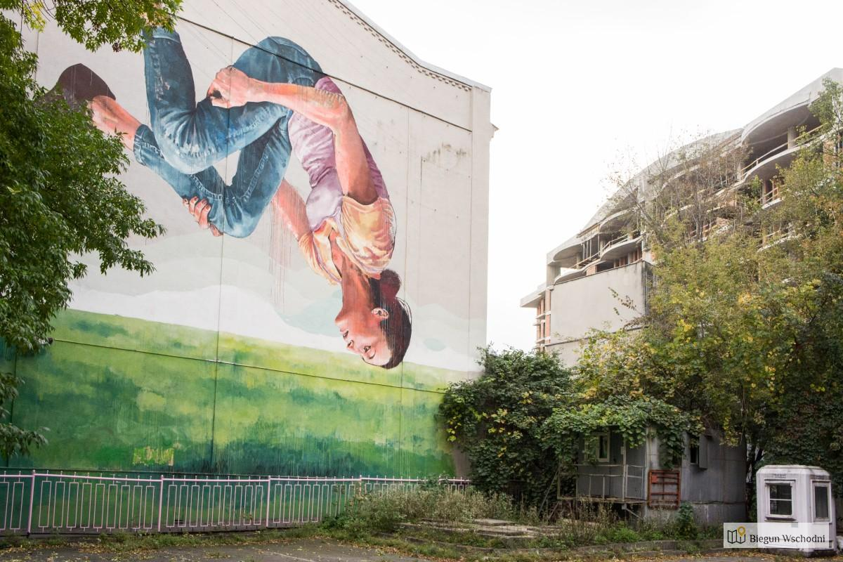 Street art w Kijowie. Murale, które chwyciły mnie za oko