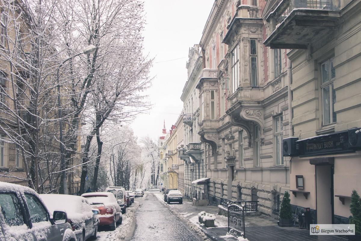 Lwów. Jarmark bożonarodzeniowy we Lwowie na Ukrainie