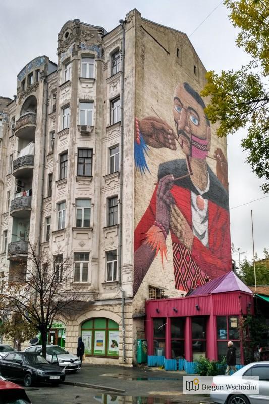Street art w Kijowie. Ciekawe miejsca, co warto zobaczyć