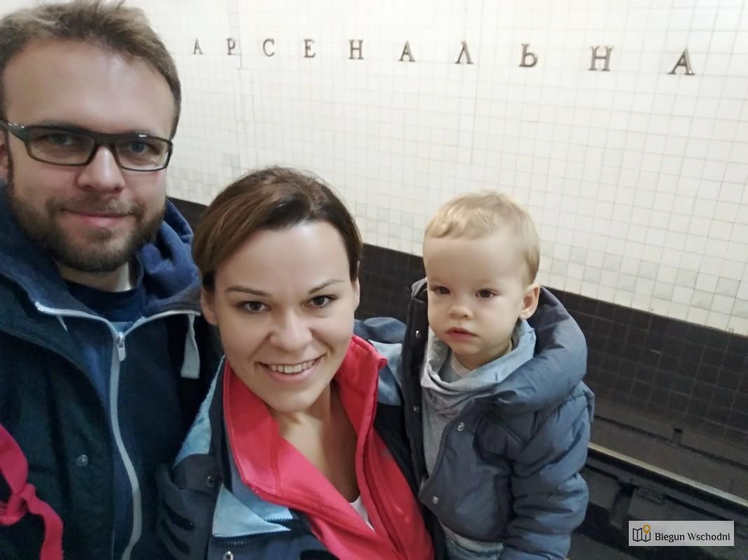 Najgłębsza stacja na świecie - Arsenalna, Kijów