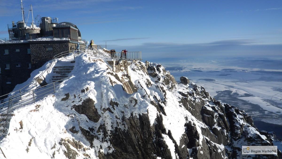 Urlop na Słowacji - Łomnicki szczyt