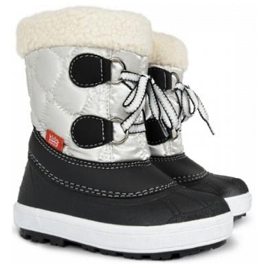 Ciepłe buty na zimę dla dziecka, śniegowce kozaki z wełną