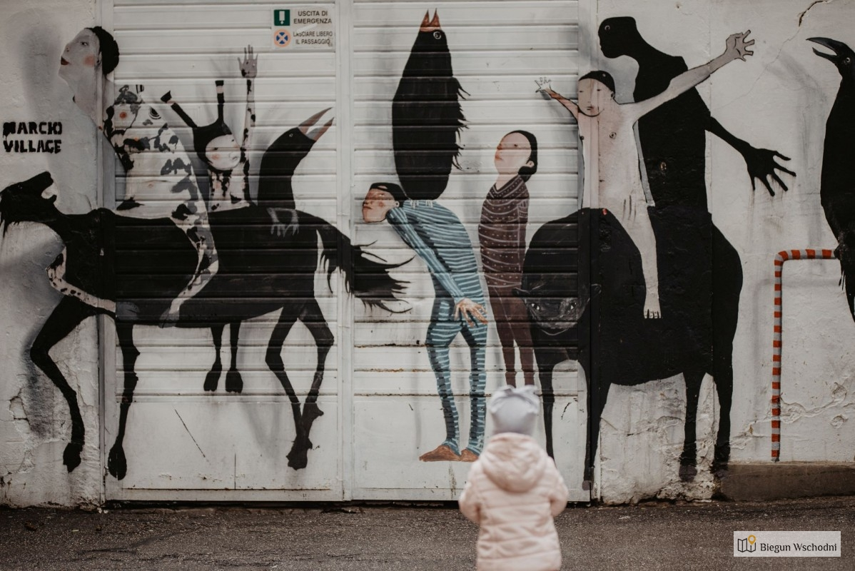 Street art w Bolonii. Co zobaczyć w Bolonii